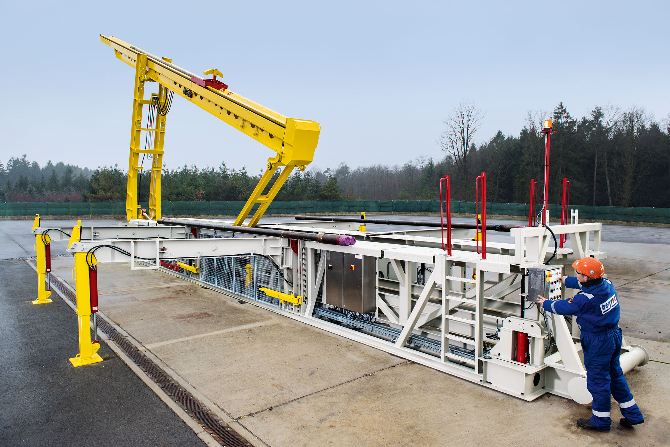 Bentec GmbH Drilling & Oilfield Systems - Catwalk Systems