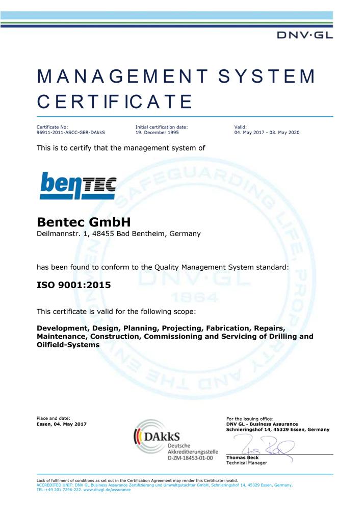 company certification